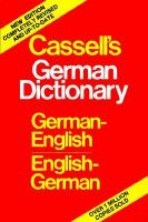 Cassell's German-English, English-German Dictionary