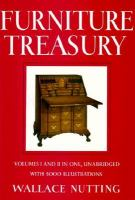 Furniture Treasury (mostly of American Origin)