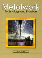 Metalwork, Technology and Practice