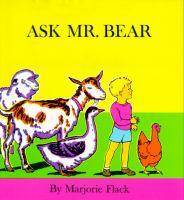 Ask Mr. Bear
