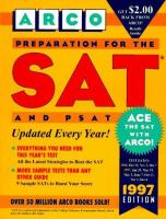 Preparation for the SAT and PSAT