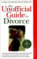 The Unofficial Guide to Divorce