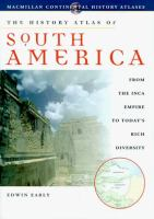 History Atlas of South America