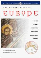 History Atlas of Europe