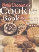 Betty Crocker's Cookie Book