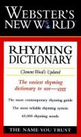 Webster's New World Rhyming Dictionary