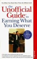 The Unofficial Guide to Earning What You Deserve
