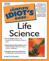 The Complete Idiot's Guide to Life Science