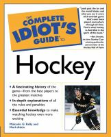 The Complete Idiot's Guide To Hockey