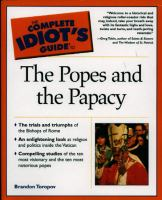 The Complete Idiot's Guide to the Popes and the Papacy