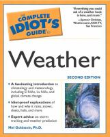 The Complete Idiot's Guide to Weather
