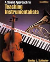 A Sound Approach to Teaching Instrumentalists