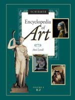 Schirmer Encyclopedia of Art