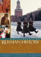 Encyclopedia of Russian History