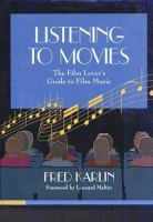 Listening to the Movies
