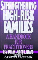Strengthening High-risk Families