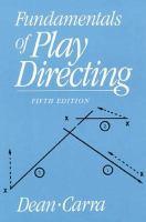 Fundamentals of Play Directing