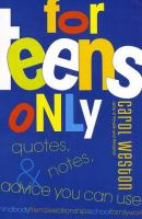 For Teens Only