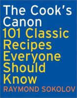 The Cook's Canon