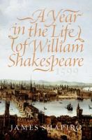 A Year in the Life of William Shakespeare, 1599