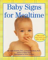 Baby Signs for Mealtimes