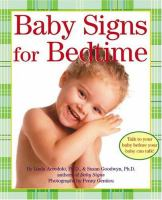 Baby Signs for Bedtime