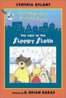 The Case of the Sleepy Sloth