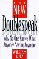 The New Doublespeak