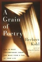 A Grain of Poetry
