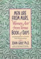 Men Are From Mars, Women Are From Venus Book of Days