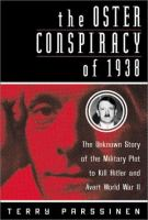 The Oster Conspiracy of 1938