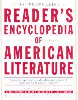 HarperCollins Reader's Encyclopedia of American Literature