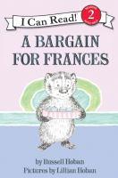 Media Cover for Bargain for Frances