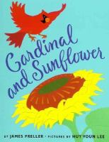 Cardinal and Sunflower