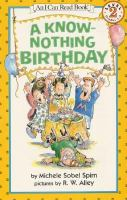 A Know-Nothing Birthday