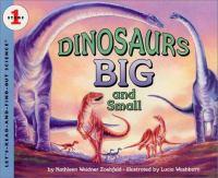 Dinosaurs Big and Small