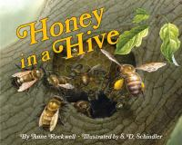 Honey in A Hive