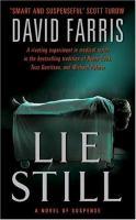 Lie Still: A Novel Of Suspense