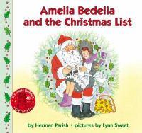 Amelia Bedelia and the Christmas List