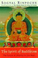 The Spirit of Buddhism
