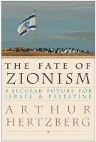 The Fate of Zionism