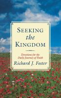 Seeking The Kingdom