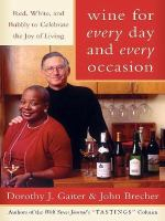 Wine for Every Day and Every Occasion