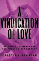 A Vindication of Love