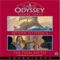 Mary Pope Osborne's Tales From The Odyssey, Volume Three