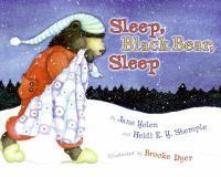 Sleep, Black Bear, Sleep