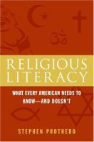 Religious Literacy