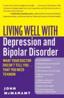 Living Well With Depression and Bipolar Disorder