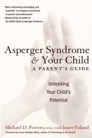 Asperger Syndrome & your Child
