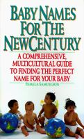 Baby Names for the New Century